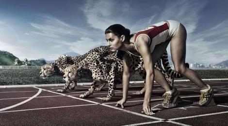 Alta competitividade e performance. (Internet)
